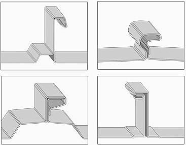 Profil-Beispiele für die H-Klemmen
