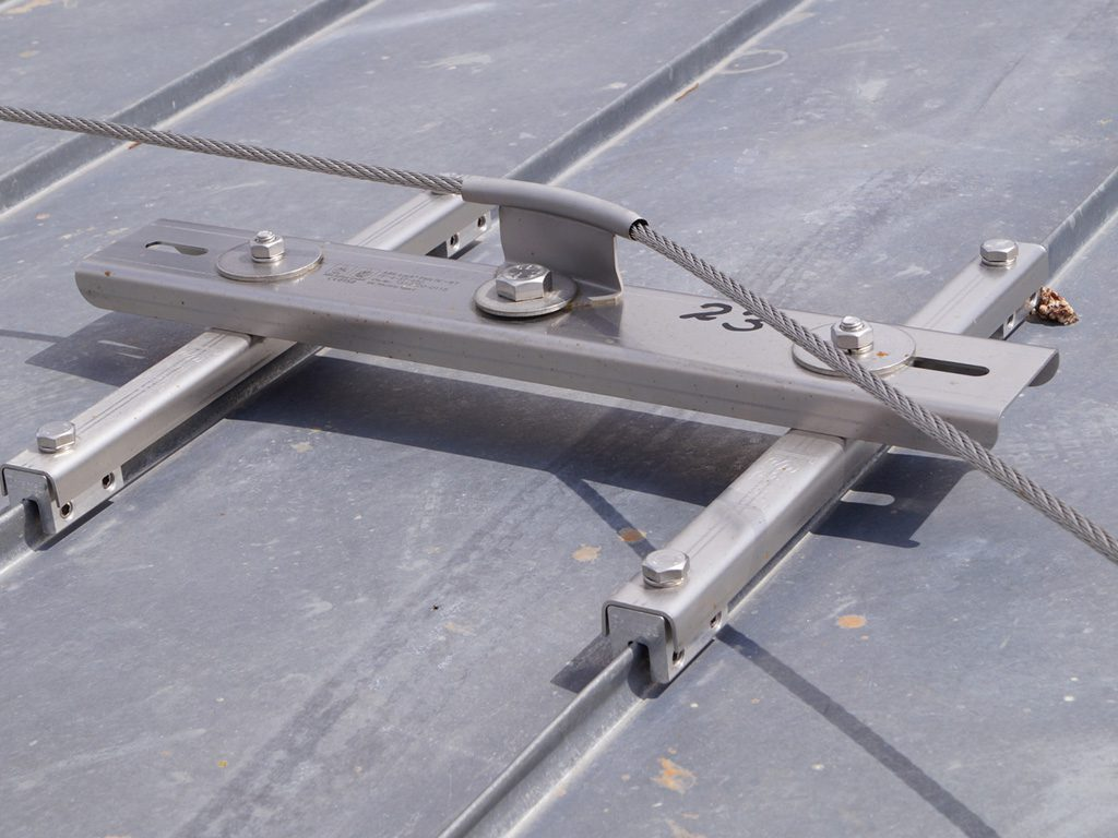 Fall Protection Examples With S 5 Clamps Rooftech