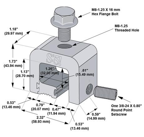 Maße H-Mini