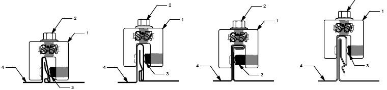 1. S-Klemme bzw. S-Mini + Falztypen