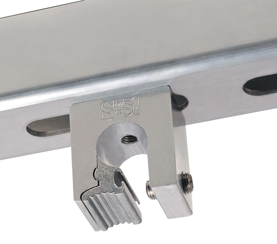 Typische C-Schiene montiert auf Z-Mini für Rundfalzdächer