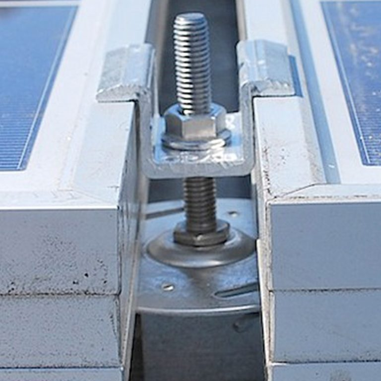 Direktmontage mit PV-Kit