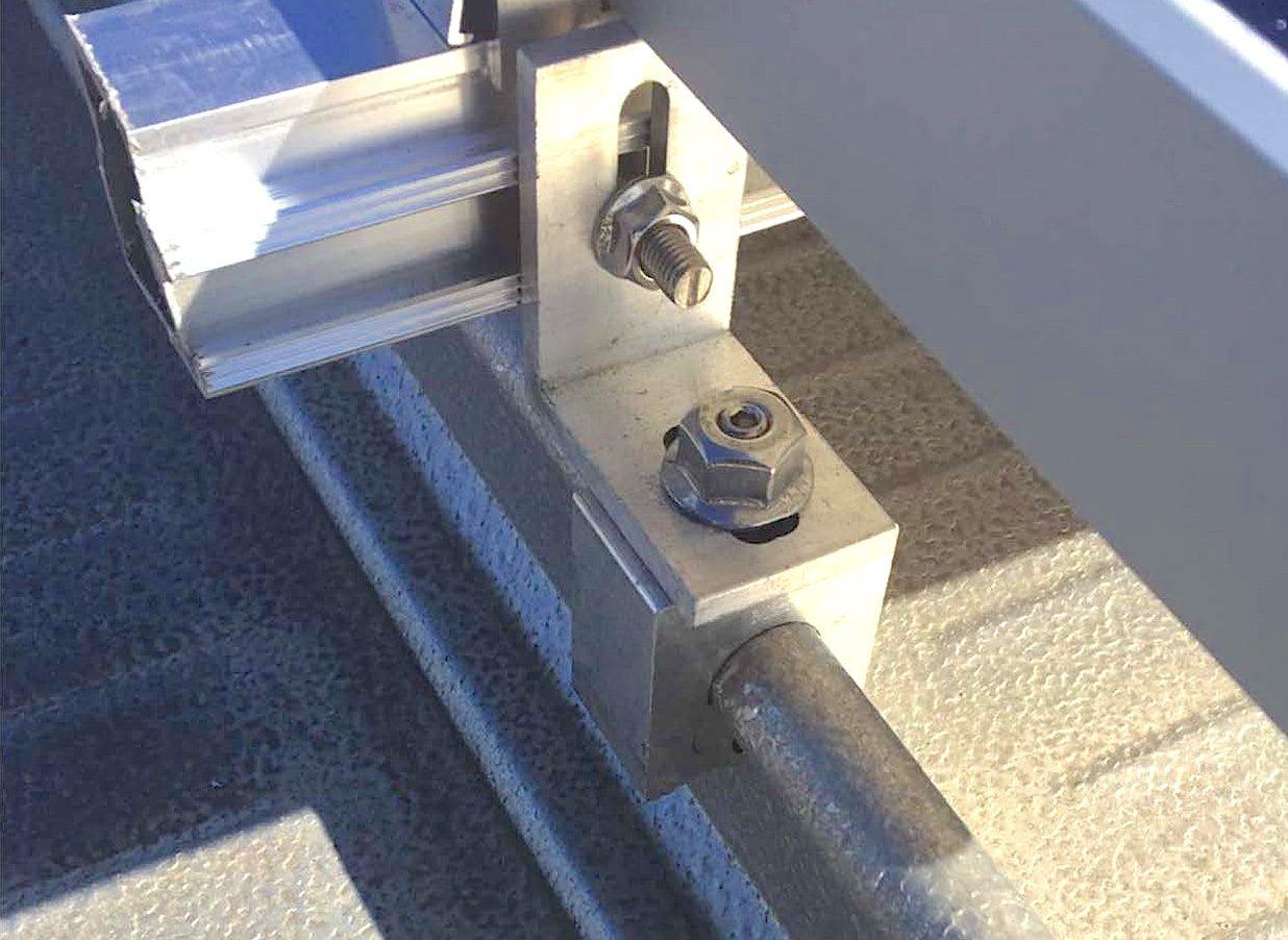 Schiene auf Mini-FL-Klemme