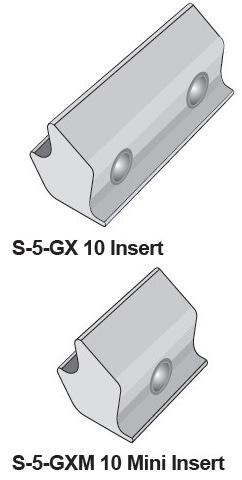S-5-K-Grip Inserts
